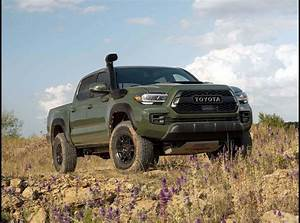 2021 Toyota Tacoma Trd Pro Manual Off Road Army Green