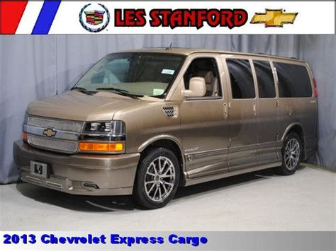 Sell New Chevroletexpress Explorer Conversion Van Low