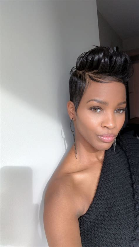 funky relaxed growout funky relaxed grow out in 2019 short hair styles short black