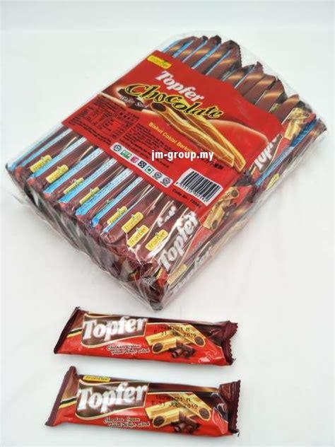 TOPFER CHOCOLATE STICKS 40PCS - JM GROUP