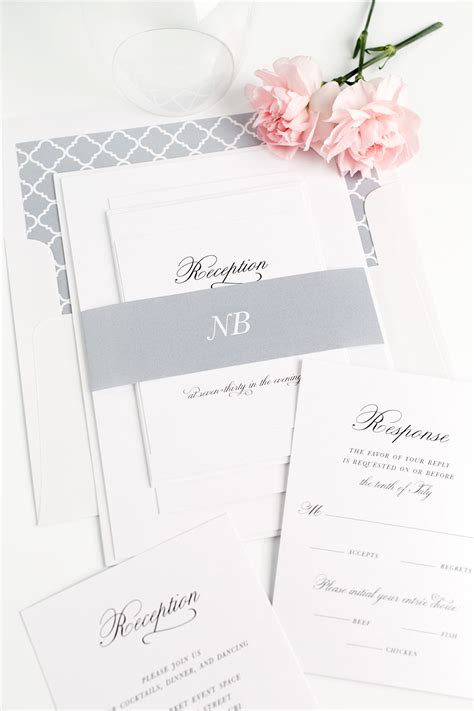 classic wedding invitations ideas wohh wedding