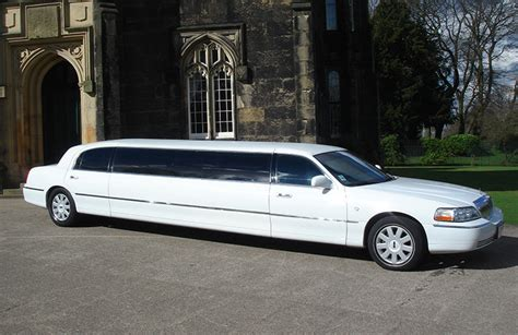 Limo Hire Prices by Lincoln Stretched Limo White Worcester Limo Hire