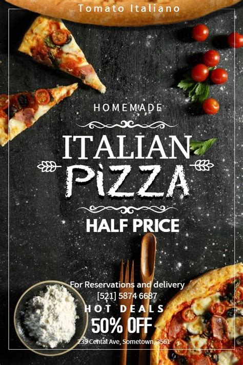 restaurant poster templates images  pinterest