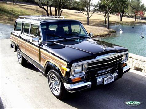 classic jeep wagoneer for sale classic 90 jeep grand wagoneer 4x4 1707 for sale