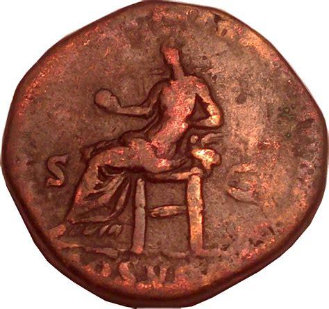 securitas siege sesterce commode secvrit orb rome antique numista