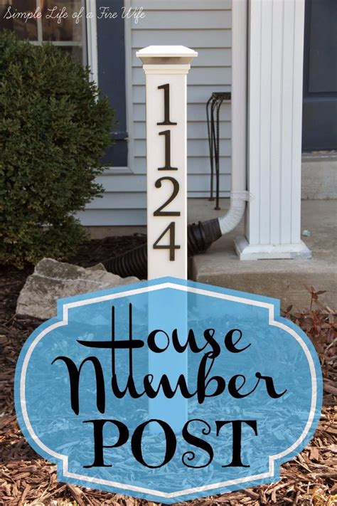 creative diy house numbers diy joy