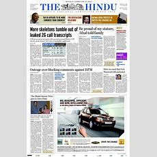 Choosing The Right Newspaper Advertising With The Hindu  Releasemyad Blog