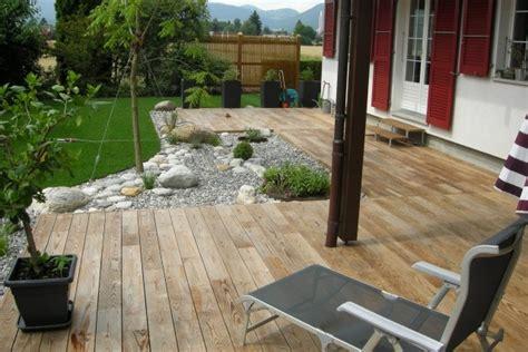 idees terrasse bois pour  exterieur fonctionnel  elegant