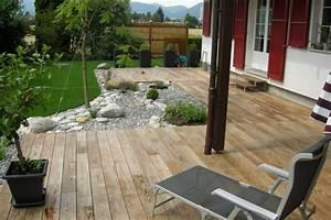 idee de terrasse meilleures images d39inspiration pour With idee amenagement terrasse exterieure 0 25 idees pour amenager et decorer un petit jardin