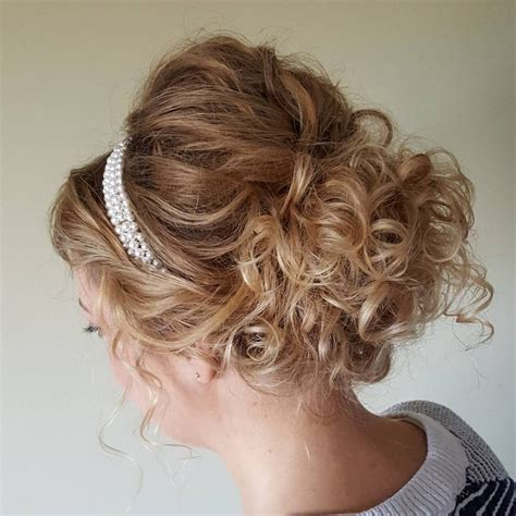 Updo Hairstyles by 29 Curly Updos For Curly Hair See These Ideas For 2019