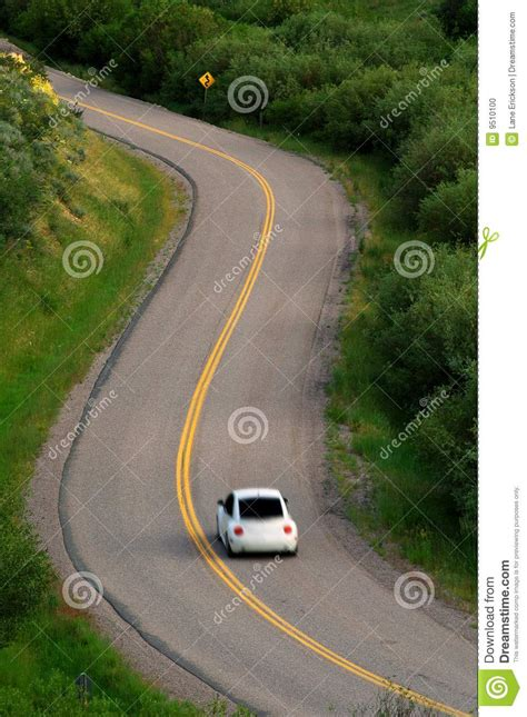 car driving  road stock photo image  mirror fast