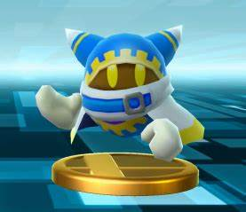 Image - SSB4 Magolor trophy.png | Kirby Wiki | FANDOM ...