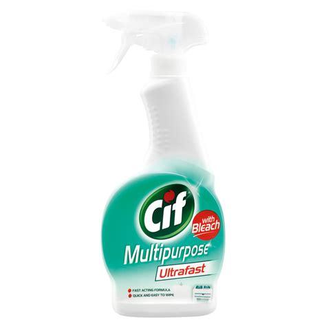 Cif Multi Purpose Spray With Bleach 450 Ml Cif