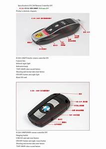 H 264 1080 P Porsche Benz  Bmw Remote Controller Dv Hd Car