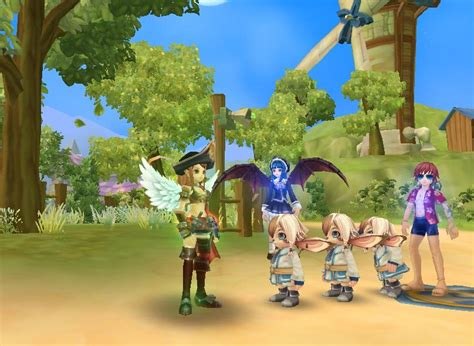 Peria Chronicles Free Mmorpg Review Cloud Nine Review And
