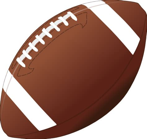 Football Clipart Football Clip At Clker Vector Clip