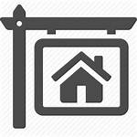 Icon Rent Sign Estate Sell Icons Inspection