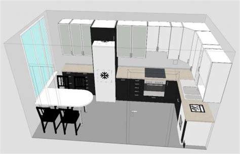 ikea plan cuisine logiciel gratuit de conception de cuisine plan 3d et agencement