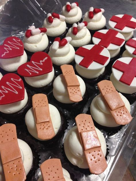medical cupcakes cupcakes pinterest nurses day