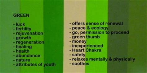 what is the meaning of the color green use color meanings and symbolism in unique gift giving