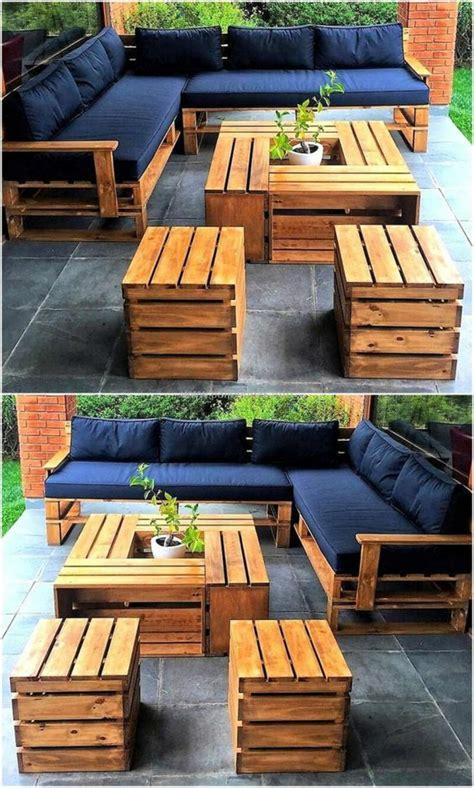 1001 id 233 es pour des meubles de jardin en palettes astuces espaces ext 233 rieurs