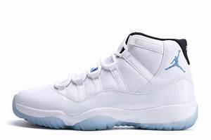 """Air Jordans 11 Retro """"Legend Blue"""" White/Black-Legend Blue ..."""
