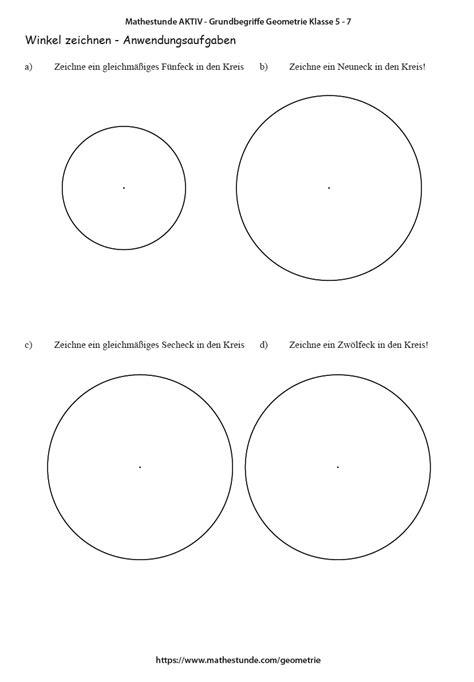 fuenfeck zeichnen arbeitsblatt und lernvideo fuenfeck