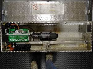 Creative Ideas For A Trailer Winch Mount    Battery Box