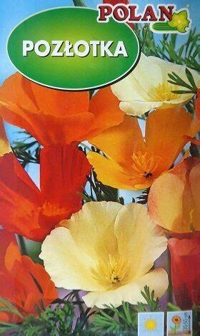 Kalifornijas ešolcija MIX 1 g Polan - Viengadīgās puķes ...