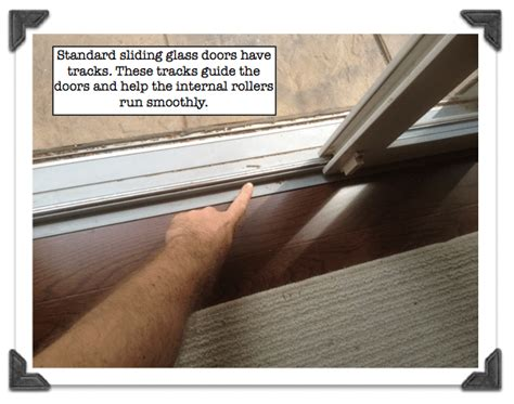 sliding door repair track