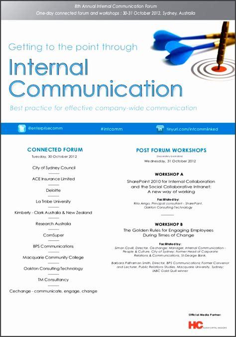 internal communication plan template sampletemplatess