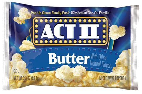 ACT II POPCORN BUTTER 2.75OZ 28CT   GLA Wholesale