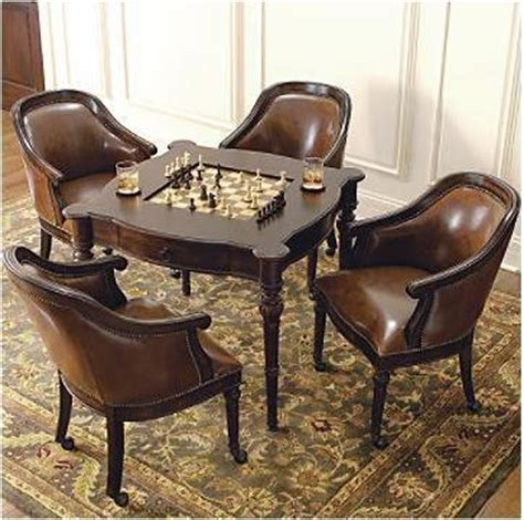 freeman table and leather chairs be sportier
