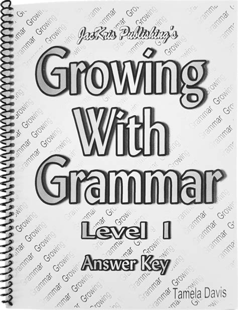 """Growing With Grammar- Levels 1-8 – Tagged """"Growing With"""