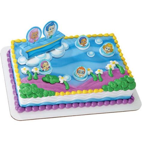 Guppies Cake Decorating Kit by Items Similar To Guppies Cake Topper Decor Kit On Etsy