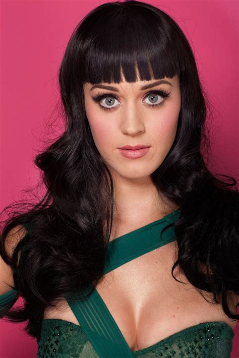 Wallpaper : Katy Perry, brunette, long hair, blue eyes ...