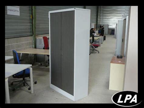 armoire m 233 tallique pas cher marron et gris armoire haute armoires lpa