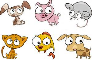 Really Cute Cartoon Animals