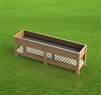 raised planter box plans 8ft Raised Planter Box 001 - Paper Building Plans - Easy ...