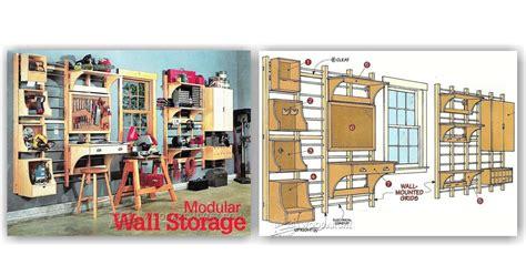 workshop modular wall storage system woodarchivist