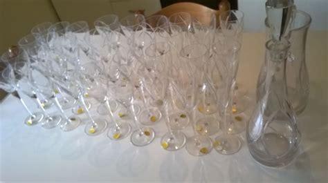 bicchieri di cristallo di boemia servizio di bicchieri in cristallo di boemia catawiki