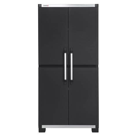 placard de cuisine pas cher armoire haute résine 3 tablettes allibert xl pro l 88 x h