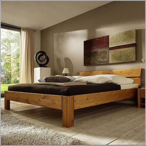 Kiefer Massiv Bett 180x200  Betten  House Und Dekor