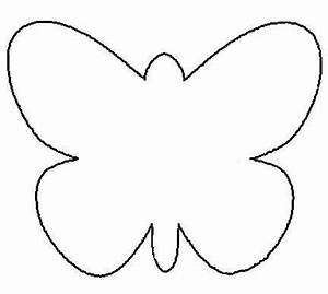 25 unique butterfly template ideas on pinterest felt With butterfly birthday cake template printable