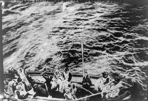 Titanic Boats Went Back by Black And White Photos Of Titanic Survivors From Carpathia