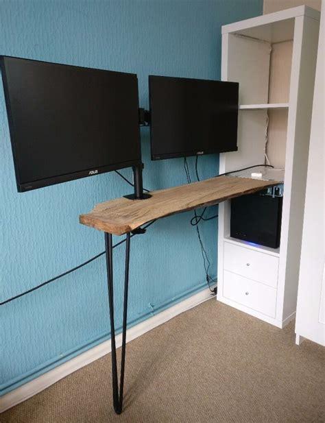 See more ideas about ikea hack, ikea, ikea desk. IKEA Custom Desk Kallax Shelving Unit White Hairpin Leg ...