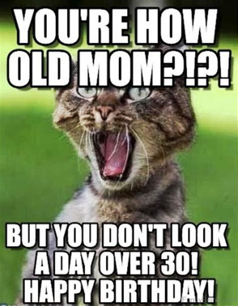 Funny Memes For Moms - happy birthday mom meme quotes and funny images for mother