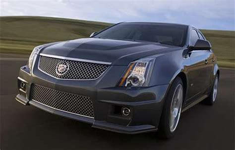 Cadillac With Corvette Engine by Cadillac Gets Sporty 2009 Cadillac Cts V With Corvette Engine