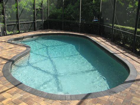 Resurface Pool Deck With Pavers by Pool Renovation Pool Resurfacing Thin Paver Decking