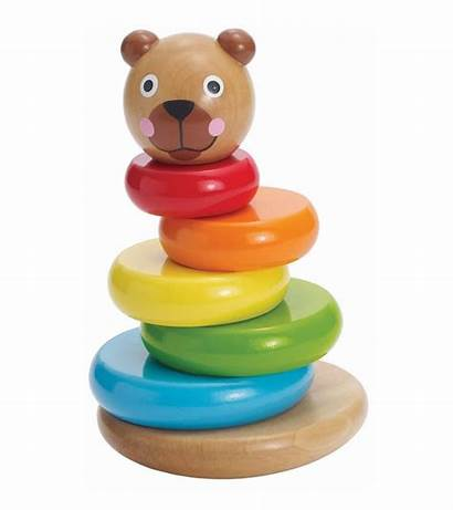 Bear Stack Magnetic Manhattan Brilliant Toy